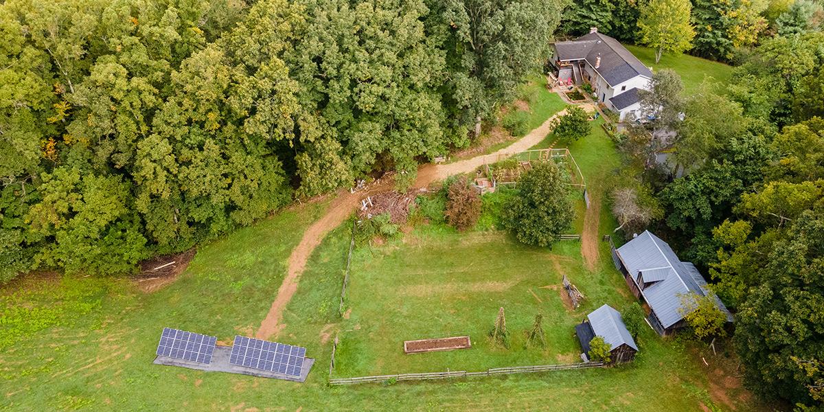 Craigs Mountain solar panel installation by SolShine Energy Alternatives